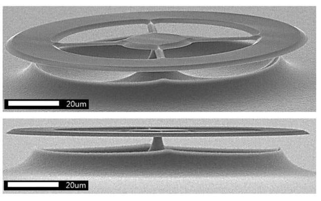 この新しい超音波センサーは非常に正確であるため、細菌が発する音を聞くことができます