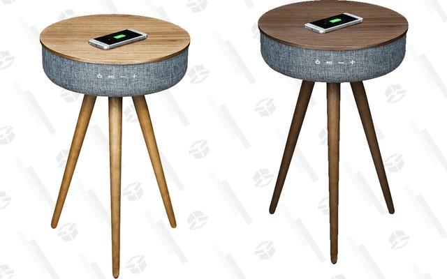 Imagínese si su teléfono pudiera cargarse solo cada vez que lo coloque. Ahora deja de imaginar y compra esta mesa que hace realidad ese sueño.