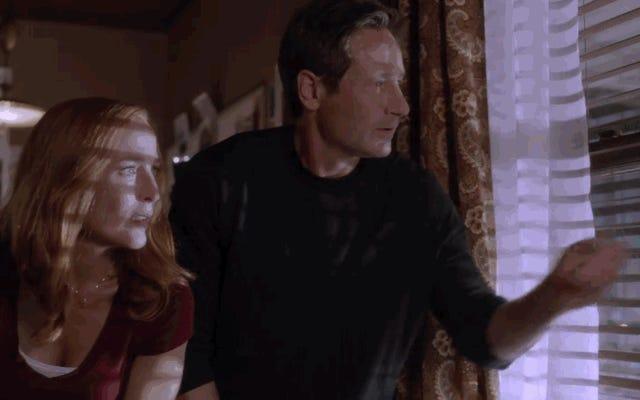 X-Filesは、新しいシーズンの最初の予告編に出没する初演