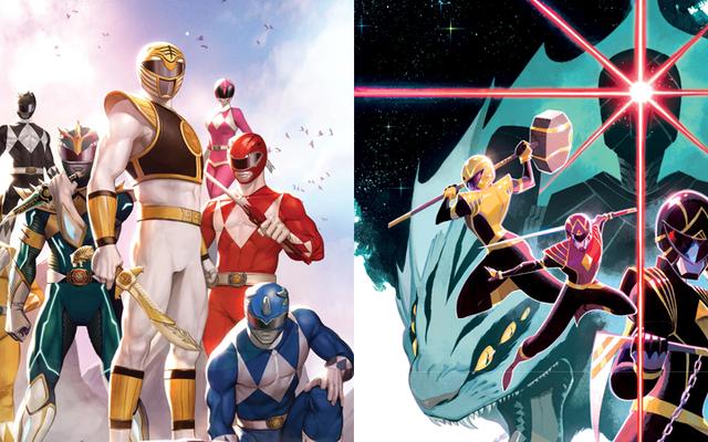 Комиксы Power Rangers перезапускаются с загадочным новым зеленым рейнджером