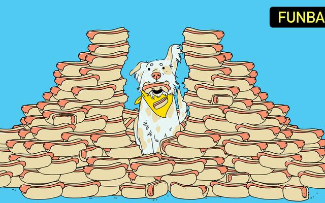 犬はホットドッグ食べるコンテストに勝つことができますか?