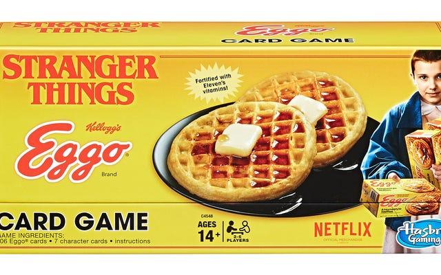 ストレンジャー・シングスはワッフルベースのカードゲームを手に入れています、そして私は今とても混乱しています
