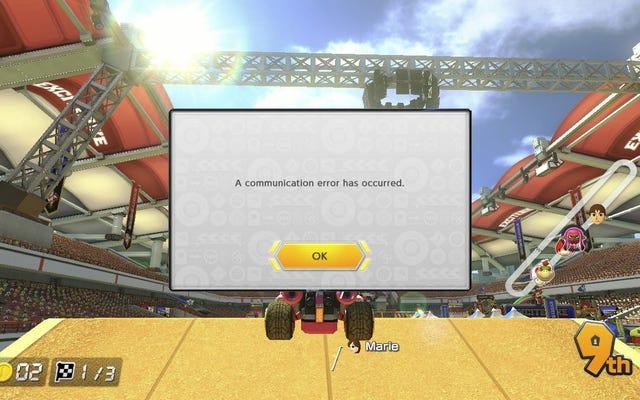 Mario Kart 8 Deluxe ha problemi di connessione