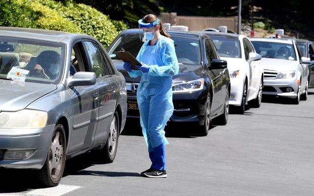 LAは、症状のない人も含め、すべての人に無料のコロナウイルス検査を提供しています