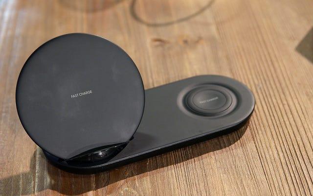 Amazon vient-il de confirmer accidentellement le chargeur double sans fil inédit de Samsung?
