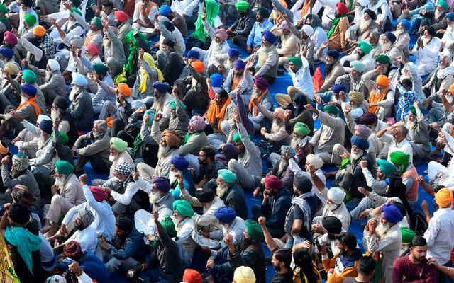 これが何千人もの農民がインドの首都で抗議している理由です