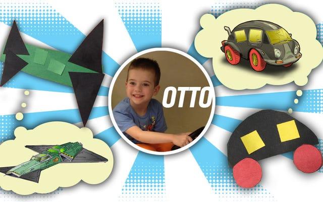 ฉันเปลี่ยนงานศิลปะของเด็กอายุ 5 ขวบให้กลายเป็นรถยนต์และเครื่องบินจริง (ชนิด)