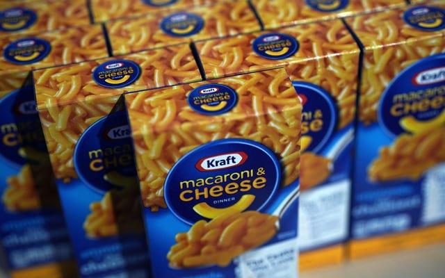 Kraft เปิดร้านป๊อปอัพฟรีสำหรับคนงานของรัฐบาลกลาง