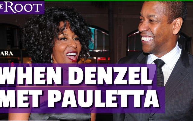 ウォッチ:デンゼルがパウレッタに会ったとき:彼は彼女の最初を追求しましたか?