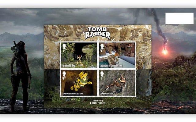あなたが実際に手紙を送る必要がある場合に備えて、ビデオゲームの切手は古典に敬意を表します