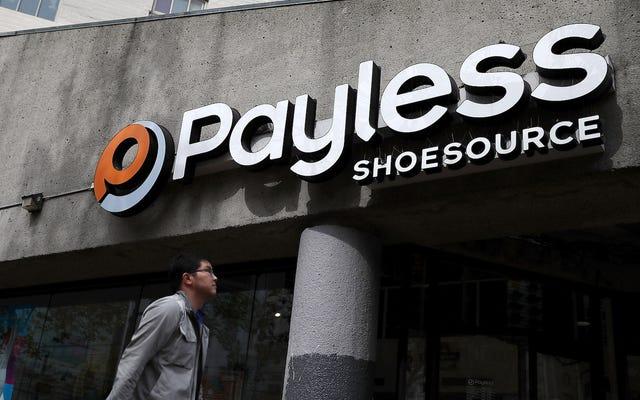 Payless, Twoje źródło podstawowych butów, złożone do bankructwa