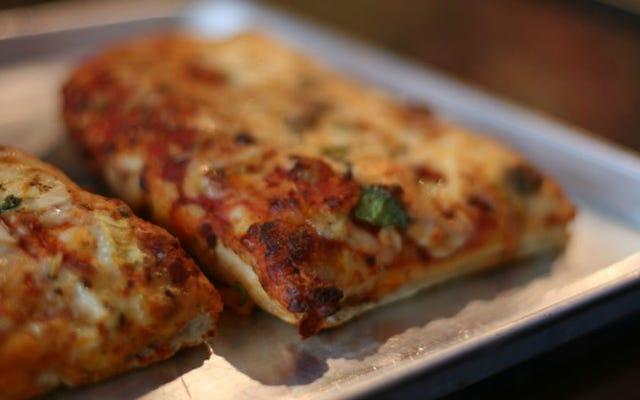 フレンチトーストのように扱うことで朝食ピザを高める
