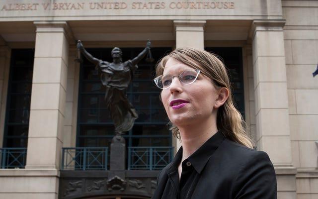 Chelsea Manning répond après que de hauts responsables de l'ONU aient qualifié son emprisonnement de `` torture ''