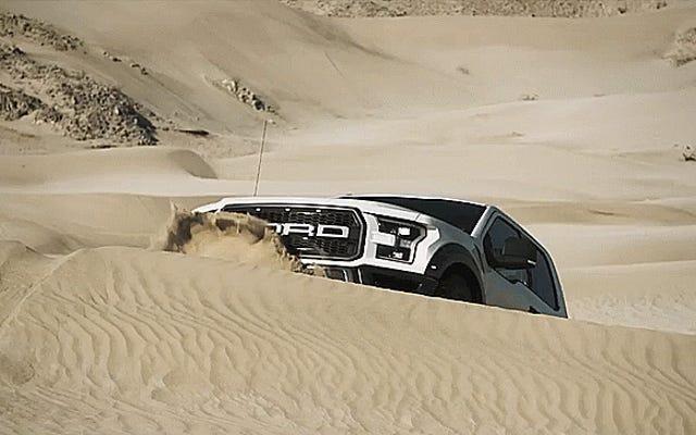 新しいフォードラプターはついにリーシュから外れました
