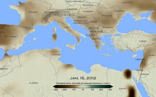 NASAによると、地中海のレバントは過去900年間で最悪の干ばつに苦しんでいます