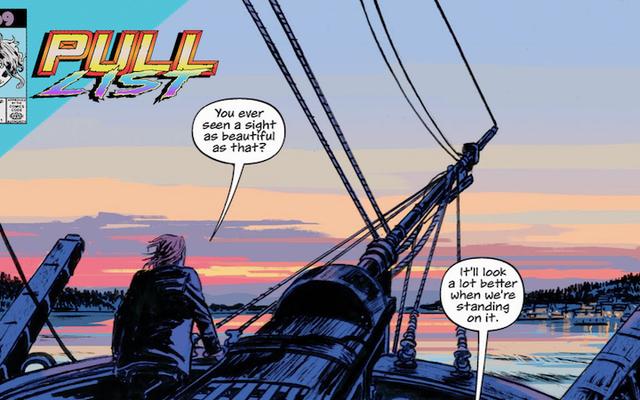 今週のベストニューコミックのヒーローは答えを探しています...そして海での復讐
