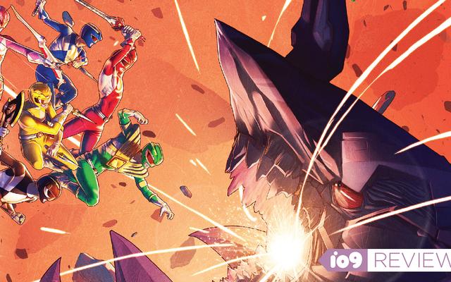 Truyện tranh Power Rangers còn hơn nhiều so với nỗi nhớ