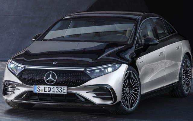 Полностью электрический Mercedes EQS 2022 года: вот и все
