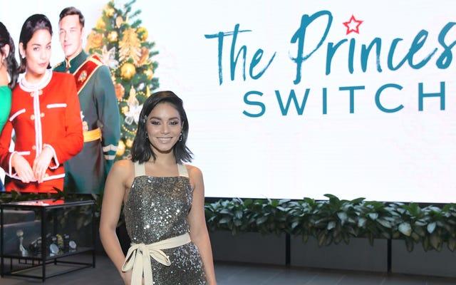 Vanessa Hudgens interpreterà non 1, non 2, ma 3 principesse nel sequel di Princess Switch