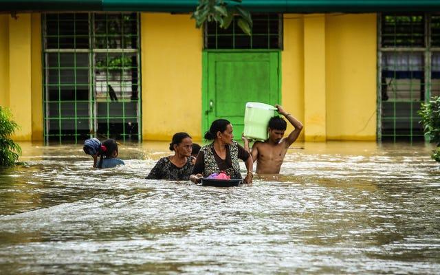 I paesi poveri sono colpiti dalle condizioni meteorologiche estreme, ma nessuno è al sicuro