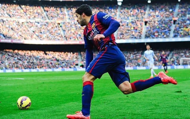 Luis Suárez est de retour et il vient dévorer le monde