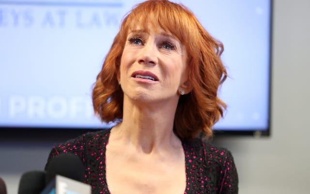 Kathy Griffin Nasıl Üzgün Olmaktan Üzgün Değil Oldu?