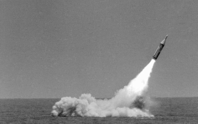 核ミサイルの唯一の実物大試験は57年前でした