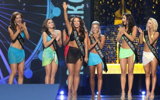 メールによると、ミス・アメリカのCEO、太った恥ずかしい勝者は、誰もが一緒に寝ていた彼女の「ゴミ箱」と呼んだ