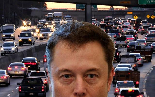 イーロンマスクがロサンゼルスのトンネル計画を掘り下げる