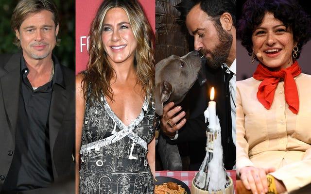 Jennifer Aniston e Brad Pitt e Justin Theroux e Alia Shawkat stanno tutti bene!