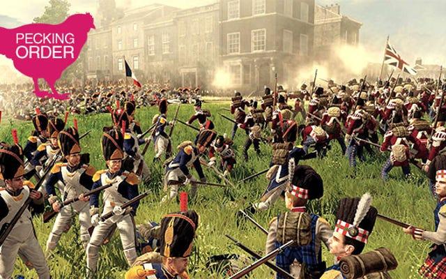 Oceńmy Total War Games, od najlepszych do najgorszych