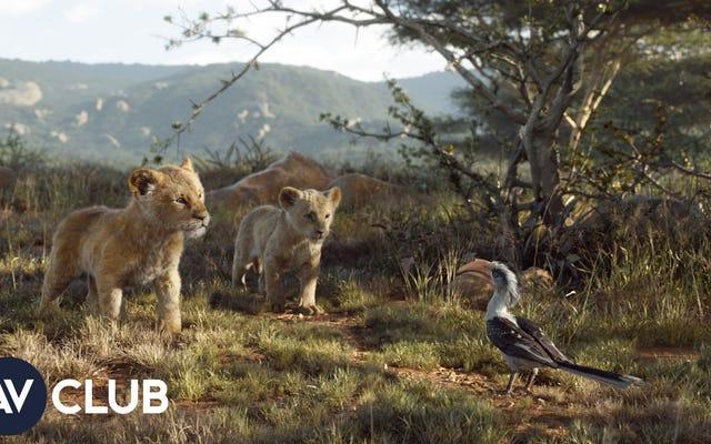 Đây là cách Vua sư tử tạo ra những con sư tử giống như thật của nó