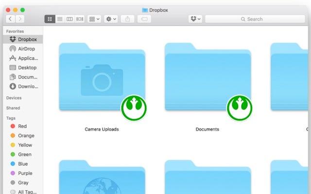 Thay đổi biểu tượng đồng bộ hóa Dropbox thành bất cứ thứ gì bạn muốn trên OS X