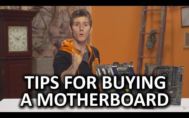 このビデオは、ビルドに最適なマザーボードを選択するのに役立ちます