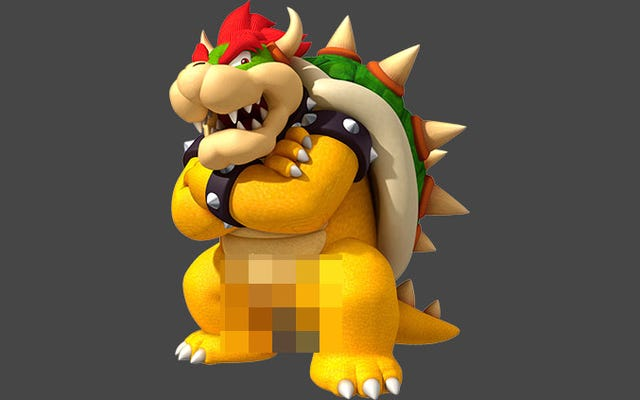 Big Bowser Penis a été retiré de Patreon