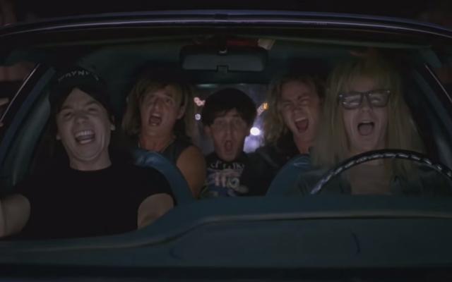La épica reunión de Josh Gad en Wayne's World incluye a Mike Myers, Dana Carvey, Aerosmith, Cooper, Queen y más