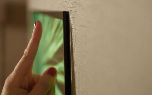 Les nouveaux téléviseurs OLED de LG sont plus fins qu'un doigt