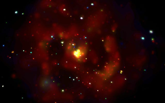 Un principal sospechoso de materia oscura podría estar escapando de las estrellas de neutrones
