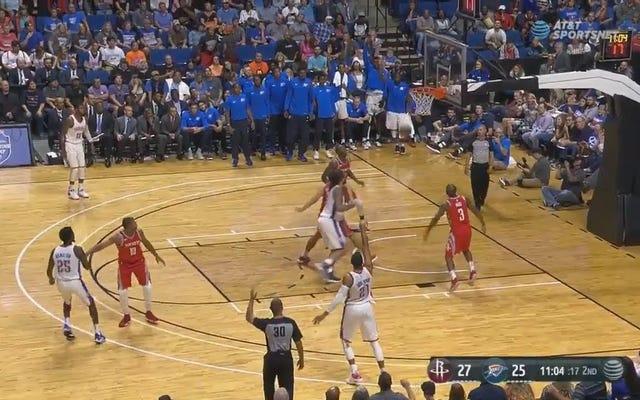 これはバスケットボールの試合でやるべき非常に失礼なたわごとです