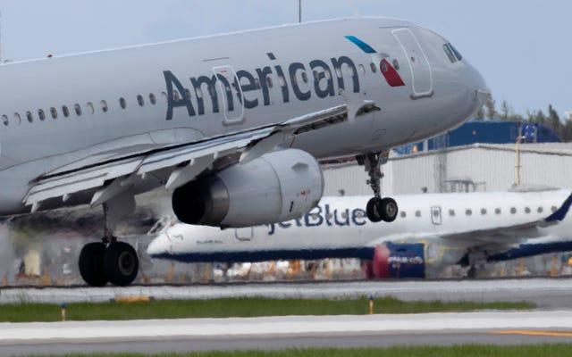 アメリカン航空が乗組員にブラック・ライヴズ・マター・ピンの着用を許可