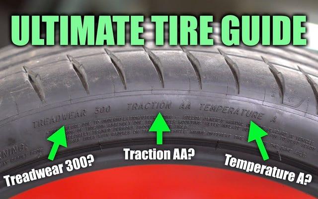 Làm thế nào để hiểu những gì được viết trên lốp xe của bạn