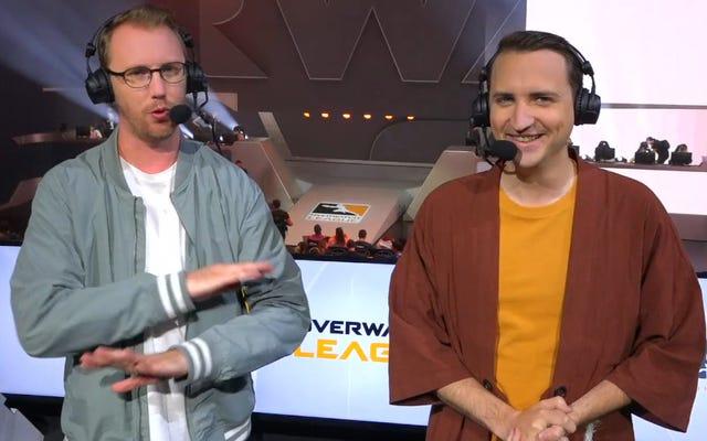 I commentatori della Overwatch League stanno saltando la nave [AGGIORNAMENTO]