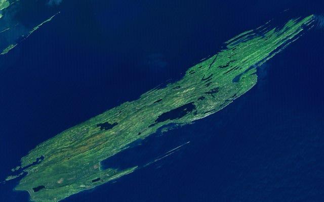Esta é a maior ilha do maior lago da maior ilha do maior lago da maior ilha do maior lago do mundo (mas apenas quando chove)