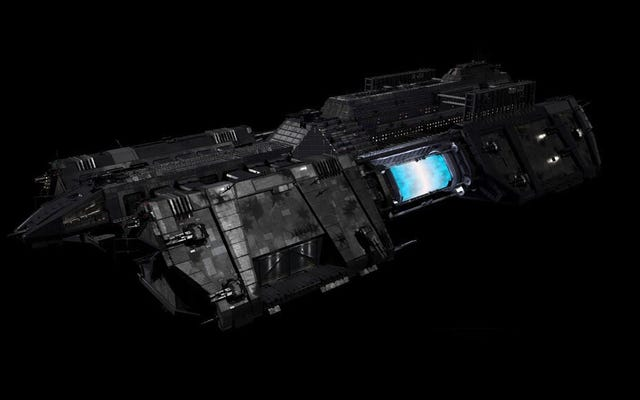 Comment la matière noire de Syfy a créé le navire de police ultime