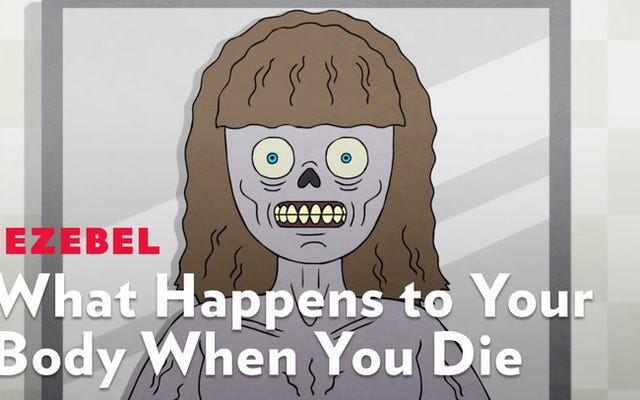 これがあなたが死んだときにあなたの体に何が起こるかです