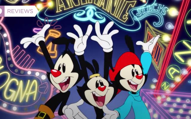 El reinicio de Animaniacs de Hulu es nostálgico por todas las razones equivocadas
