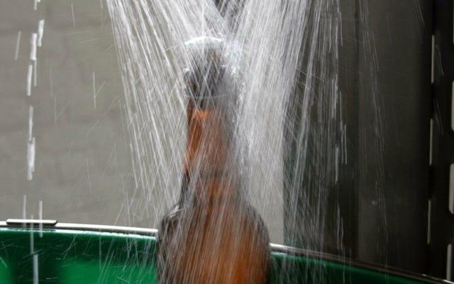 完璧なシャワービールはサクサクして柑橘系です