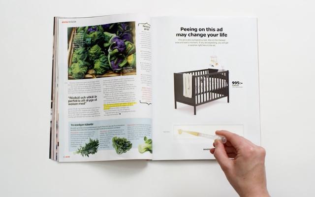 ลองดูโฆษณา Ikea นี้เพื่อดูว่าคุณกำลังตั้งครรภ์หรือไม่