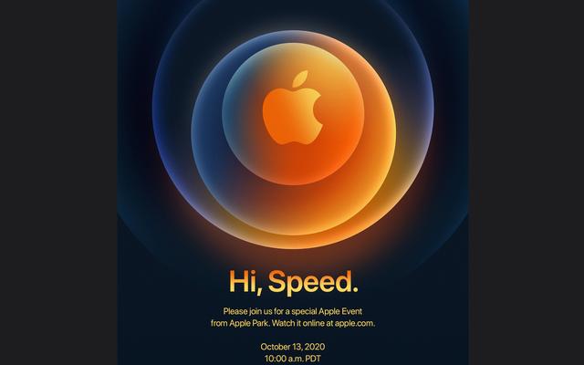 กิจกรรม iPhone ของ Apple คือวันที่ 13 ตุลาคมตามเวลาจริง