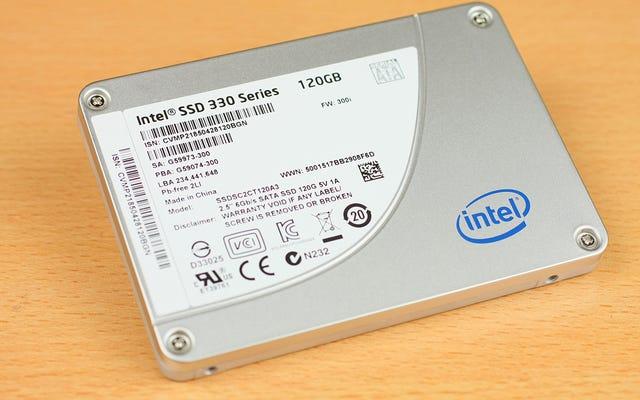 Vous n'avez probablement plus besoin d'optimiser votre SSD